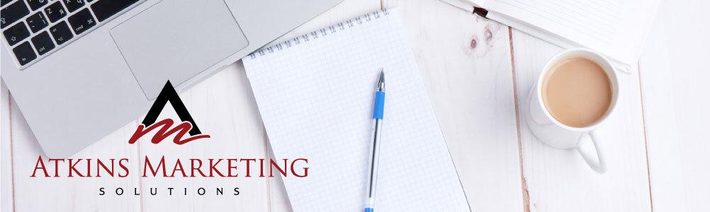 atkins marketing solutions logo and heaader image